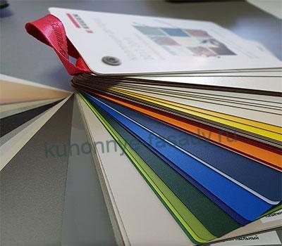 Цветовая раскладка ЛДСП  EGGER