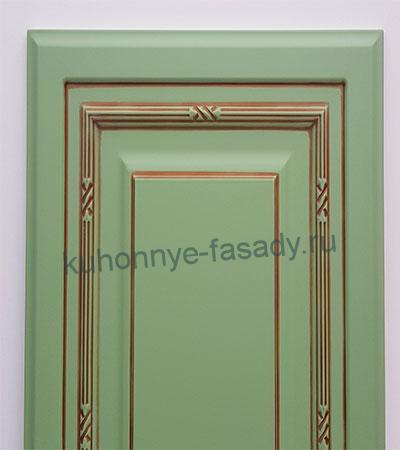 Фасады эмаль софия цвет по ралу 6021