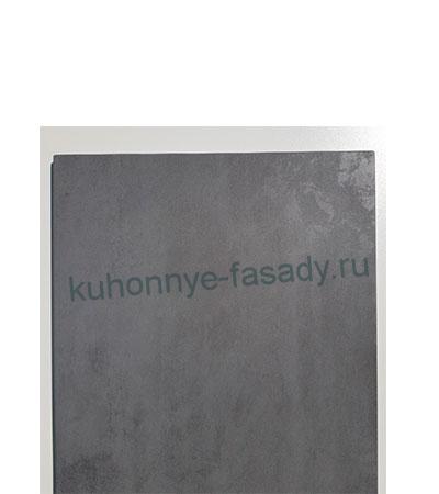 Мебельные фасады МДФ в плёнке ПВХ бетон тёмный