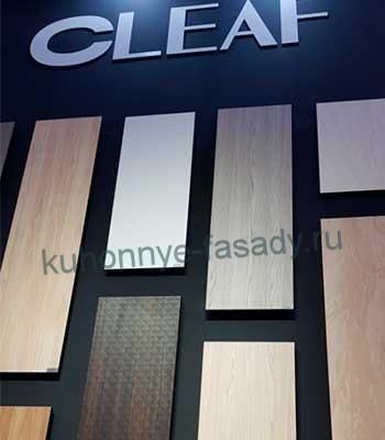 Фасады из TSS плиты Cleaf
