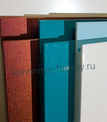 Мебельные фасады эмаль с интегрированной ручкой