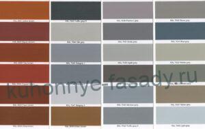 Цветовые решения эмали